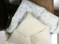 Brand new goose and duck down/feather duvets