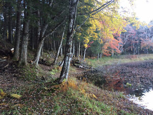 Beautiful Land Lot on Tusket River **Waterfront**