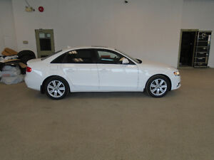 2009 AUDI A4 2.0T QUATTRO! WHITE ON BLACK! SPECIAL ONLY $11,900!