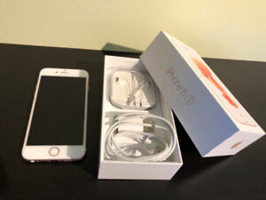 iphon 6s, Rose Gold 64GB Mint Condition! UNLOCKED!