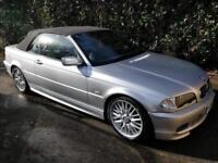 BMW 3 Series 3.0i 330Ci Sport Convertible 2d 2979cc auto