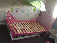Ikea Kids Bed Toddler Bed Single Bed
