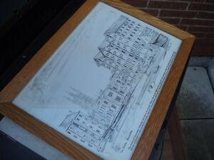 """Drawing of """"The Docks"""", Gloucester"""" Belleville Belleville Area image 7"""