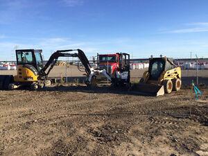 Mini Excavators/Bobcat/Dump Trailer Calgary Alberta image 2