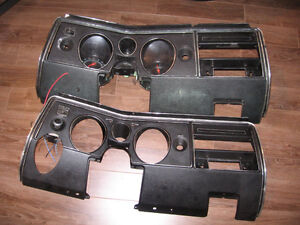 Pieces Chevelle 1969 (69): grilles avant, cluster, moulures