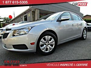 Chevrolet Cruze 4dr Sdn 1LT AUTOMATIQUE AIR  2014