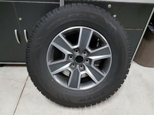 2016 F150 Alloy Wheels and Winter Tires