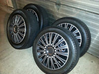 Michelin X-Ice II Winter Tires with Steel Rims
