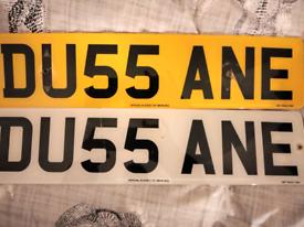 Private Plate DU55ANE