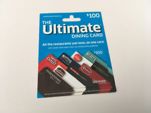 Ultimate Dinning Card for Sale
