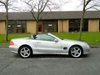 2003 53 Mercedes-Benz SL Class 3.7 SL350 2dr WITH FMSH+AMG WHEELS+PAN ROOF+