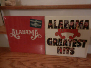 Vinyl Records/LP's Country Alabama Christmas Lot of 2 Sealed New