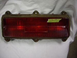 1971-72 olds toronado oem taillight lens and housing