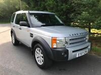 2007 LAND ROVER DISCOVERY 3 XS 2.7 TDV6 MANUAL 4X4 7 SEATER TURBO DIESEL