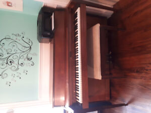 Apartment sized piano.