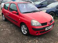 2005/05 Renault Clio 1.5dCi 100 ( a/c ) Dynamique LONG MOT EXCELLENT RUNNER
