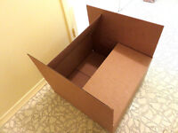 Moving/ Packing/ Storage Cardboard Boxes ---NEW