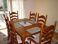 6 Place Dining Set
