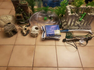 Aquarium decor and supplies