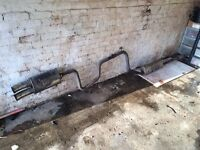Ford mondeo exhaust with racing back box