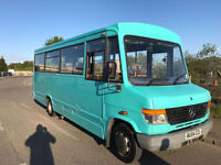 2004 Mercedes-Benz VARIO 814 16 SEATER BUS WHEEL CHAIR LIFT 1 OWNER FROM NEW P/X