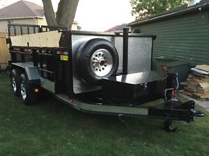 DUMP TRAILERS BY CRAMERO & SON TRAILERS NEW SHOP NEW LOCATION
