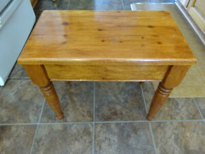 Solid Pine Bench~ made in Outport Newfoundland