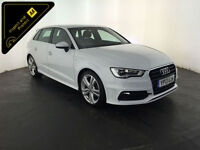 2013 AUDI A3 S LINE TDI DIESEL 1 OWNER FROM NEW FINANCE PX WELCOME