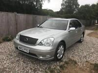2002 Lexus LS 430 4.3 V8 Sat Nav Massage Seats Xenons Top Spec 10 Services