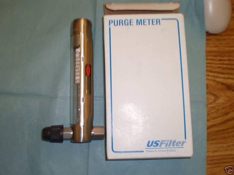 USFilter / Siemens / Wallace & Tiernan Purge Meter <