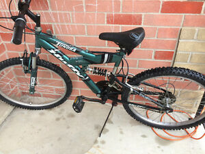 Huffy mountain bike 24 inch wheels
