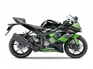 2016 Kawasaki Ninja ZX-6R ABS Kawasaki Racing Team Edition