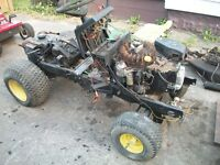 John Deere 180 Parts Mower - Barn Fresh