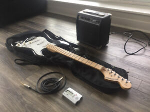 Sexy electric guitar seeks new owner