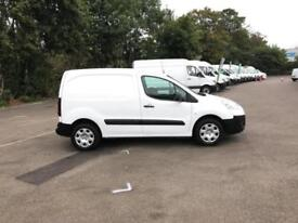 Peugeot Partner L1850 S 1.6 Hdi 92 Van [Sld] Euro 5 DIESEL MANUAL WHITE (2014)