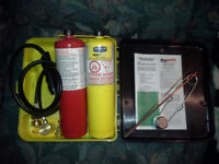 Oxy-Map Brazing Torch Kit - Dutch Auction Kitchener / Waterloo Kitchener Area Preview