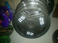 100lbs Olympic weights Mint Condition