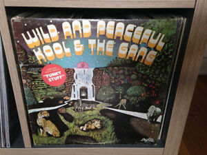 KOOL AND THE GANG Wild And Peaceful VINYL LP