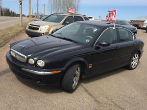 2006 JAGUAR X TYPE BLACK ON BLACK  4995$@902-293-6969 no email