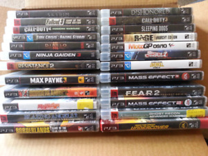 24 Ps3 games