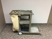 Cleaning Cart For Sale-Great Shape