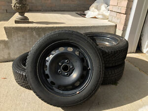 Continental-Extreme Winter Contact-Tires/Rim*Excellent Condition