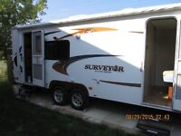 Surveyor Select Travel Trailer by Forest River