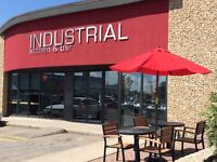 The Industrial Kitchen - Now Hiring Servers FREE PARKING