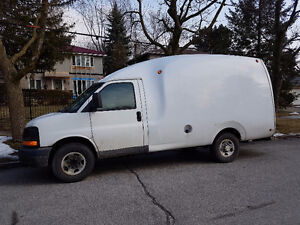 2005 Chevrolet Express Bubble Cargo Van - Certified and E-Tested