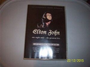 elton john,,one night only,dvd,live at msg