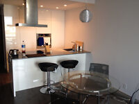 Beautiful all-furnished 3 1/2 condo @ old port, amazing views
