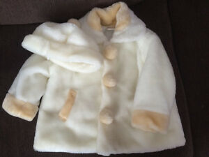Toddler winter dress coat