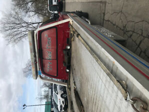 Flatbed tow truck ready to go.   $19200