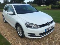 2013 63 VOLKSWAGEN GOLF 1.6 SE TDI BLUEMOTION TECHNOLOGY 5D 103 BHP DIESEL